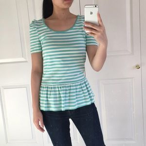 Forever 21 - Teal Peplum Top